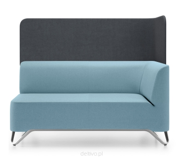Sofa z parawanem SoftBox 2LW
